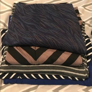 LOT of 5 Maxi Skirts (2 NWT)